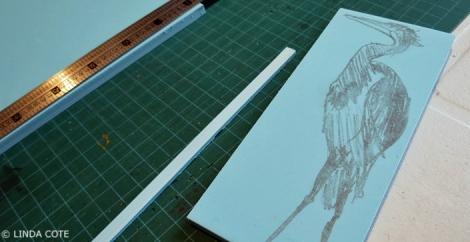 LINDA COTE-Heron's Story block