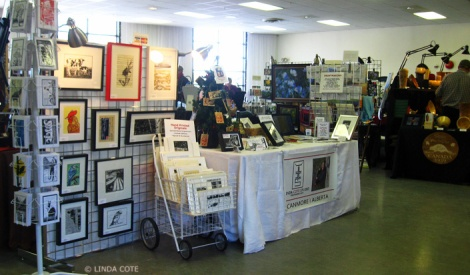 LINDA COTE- Hand Made Here Calgary Art Sale