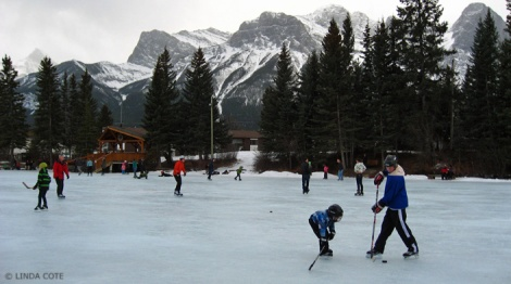 LINDA COTE-Hockey Canmore