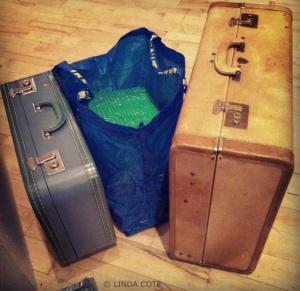 LINDA COTE-Suitcases