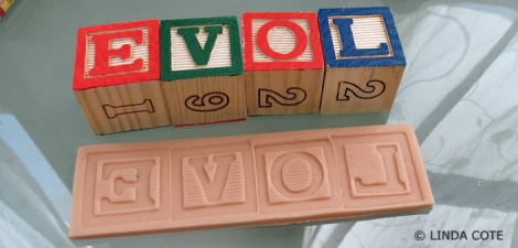 LINDA COTE-letters clay2