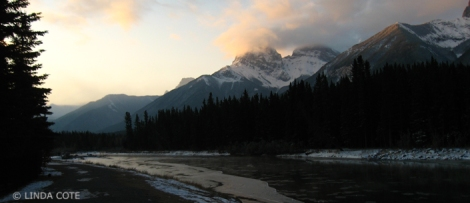 LINDA COTE-Canmore Bow River
