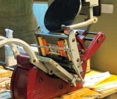 LINDA COTE-Tabletop Letterpress