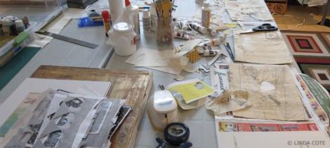 LINDA COTE-Messy Studio