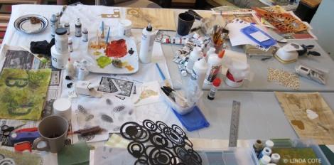 LINDA COTE-Messy Studio3