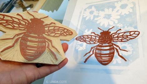 LINDA COTE- print bee2