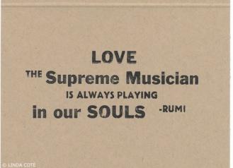 LINDA COTE-Rumi Card