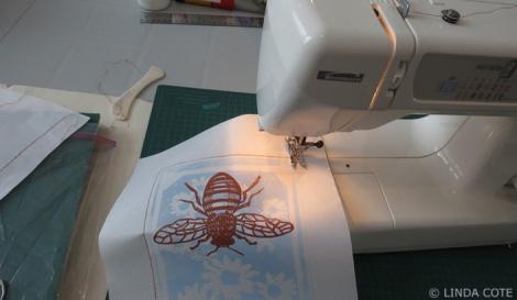 LINDA COTE-Sewing paper