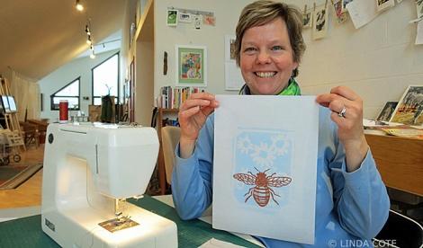 LINDA COTE-Sewing print