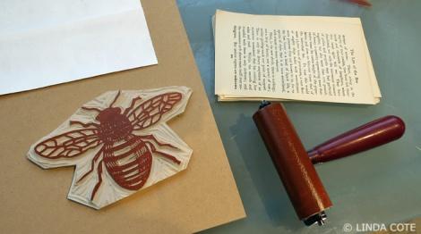 LINDA COTE-bee inking