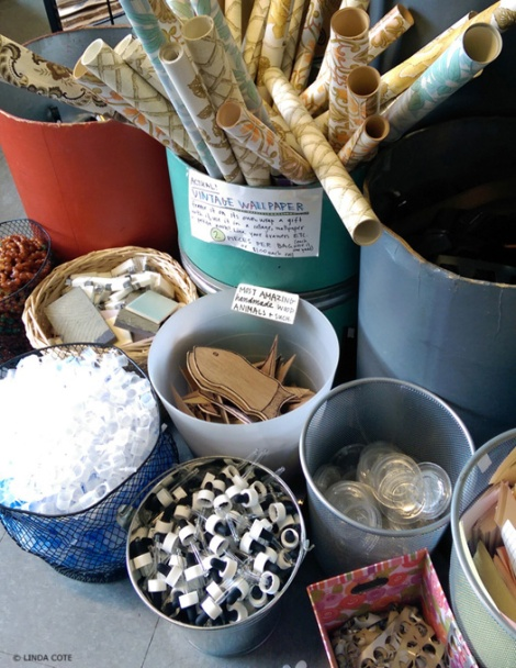 LINDA COTE-Urban Source bins