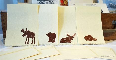 LINDA COTE-Mountain Animal Notes