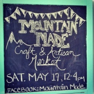 Mountain Made Chalk Board
