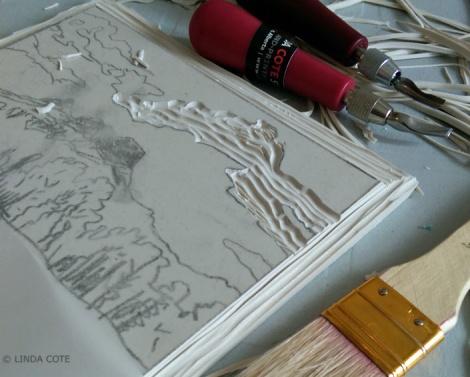 LINDA COTE-Carve sky