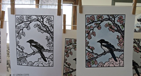 LINDA COTE-Both Versions Magpie