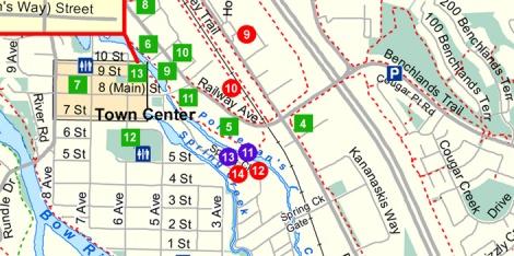 LINDA COTE-CSGT map