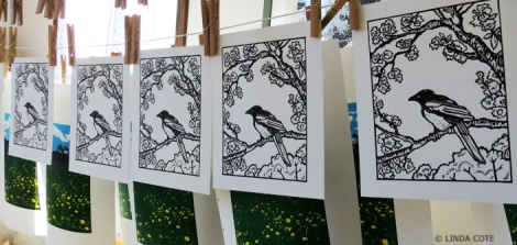 LINDA COTE-Drying Prints