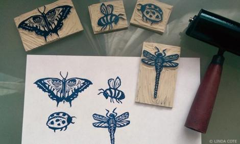 LINDA COTE-Garden Friends Notecards
