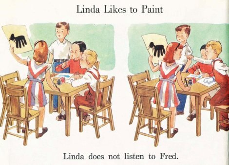 LINDA COTE-likes to paint