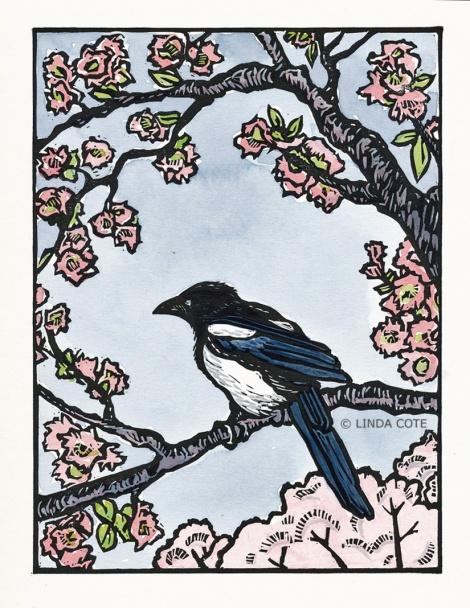 LINDA COTE-Magpie Spring