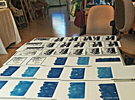 LINDA COTE-Printing cards