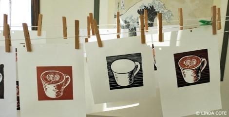 LINDA COTE-Latte Love prints