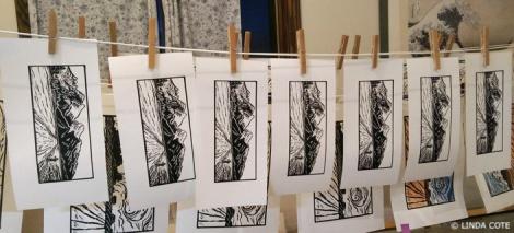 LINDA COTE-print drying