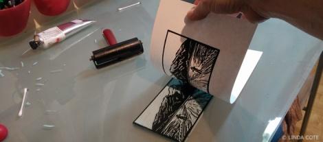 LINDA COTE-pull print