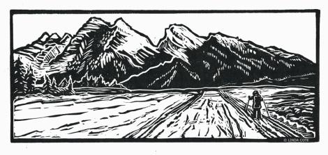 LINDA COTE-Rockies Ski Day