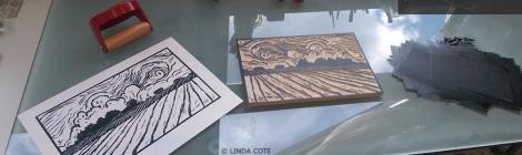 LINDA COTE-Spring Storm Feature