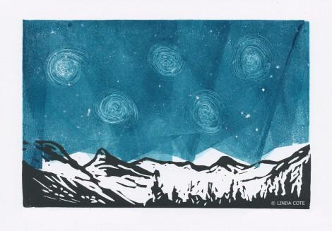 LINDA COTE-Midnight Mountains