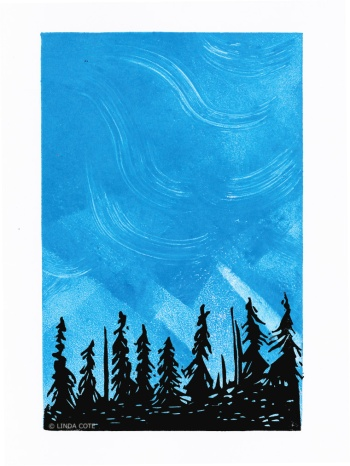 LINDA COTE-Mystical Forest
