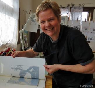 LINDA COTE-Printmaking