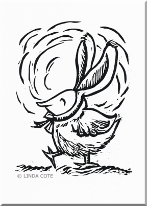 LINDA COTE-Funny Bunny