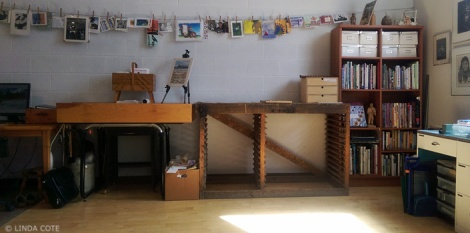 LINDA COTE-California Table no drawers