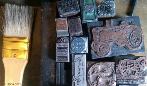 LINDA COTE-metal logos