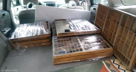 LINDA COTE-Transporting Drawers