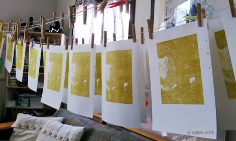 LINDA COTE-Layer 1 drying