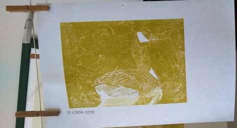 LINDA COTE-Layer 1 goose