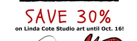Linda Cote Studio Thanksgiving Sale