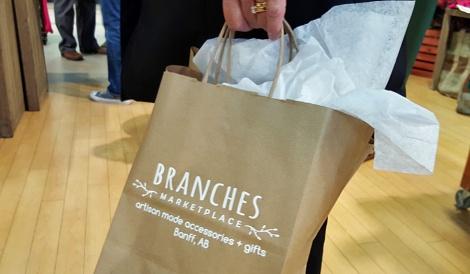 LINDA COTE-Branches Banff Bag