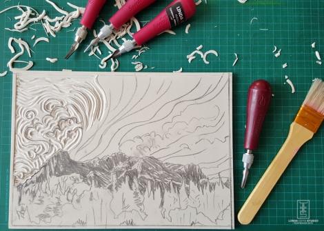 LINDA COTE-Ha Ling carve