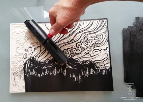 LINDA COTE-Ha Ling ink