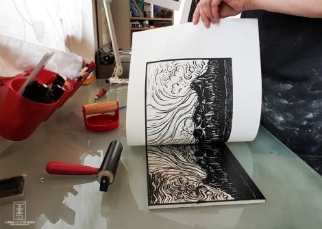 LINDA COTE-Ha Ling pull prints
